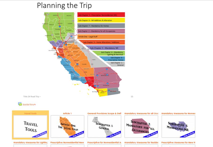 Navigating the Standards<br><em>Moodle Samples</em>