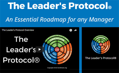 The Leader's Protocol training