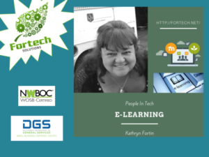People in Tech Podcast on eLearning with Kathryn Fortin from Fortech Solutions